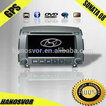 Double Din Car DVD GPS for SONATA 2008-2009 car audio BT Radio