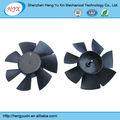 o impulsor de ventilador molde fã lâmina de moldagem de plástico