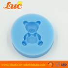 Cake Decorating Animal Mould Bear Shaped Silicone Mold