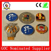 HHBADGE-535 metal badge logo, badge custom emblem (HH-Badge-535)