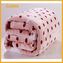 hot sale super soft 100 polyester fleece throw 50x60