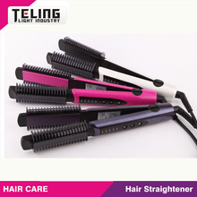 2014new eu style hair straightener with removable comb