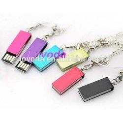 metal swivel low cost mini usb flash drives/bitcoin asic miner usb/cartoon usb flash drive pen drive LFN-311