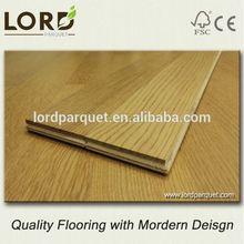 0.12 inch top veneer engineered floor with good quality lamellas