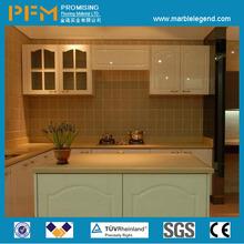 kitchen pure white flat counter tops