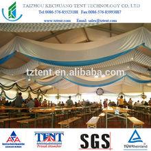 event tent drapery