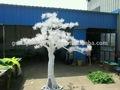 sjh100562 jardim decoração de árvores de plástico pinheiro canadense white pine agulha natal artificial tree