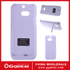 3200mAh Kickstand Power Bank Case Cover For HTC ONE M8