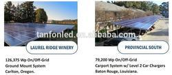solar panel monocrystalline 5 kw on grid/10kw solar cell rooftop ce off grid/500 watt solar panel set
