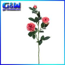 "Vintage Garden Rose Spray in Rose Pink - 29"" Tall Silk artificial Flower Arrangement wholesale"