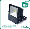 Shenzhen 70w led flood light with Bridgelux 45mil meanwell driver