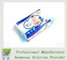 OEM Factory Disposable baby wet wipe baby product for facial cleaning