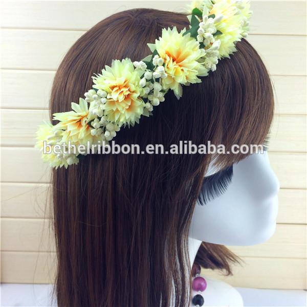 Head Wreath Name Flower Hair Head Wreath
