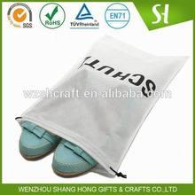 whoelsale nonwoven drawstring bag/non-woven bag/drawstring shoe bag