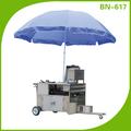 Cosbao comercial açoinoxidável móvel trailer alimentos( bn- 617)
