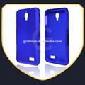 Doble- colores de silicona& caja de la pc para alcatel one touch idol 6030 ot6030 ot-6030 6030x 6030a teléfono cubierta de la caja