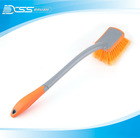 car cleaning brush with user friendly girp and protective bumper