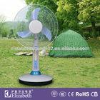 battery fan/battery operated standing fan/rechargeable fan with solar