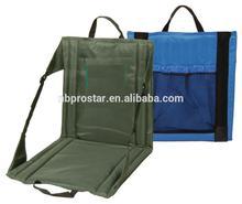 Portable Folding Stadium Chair, Heavy-duty stadium chair seat cushion,easy carrying folding beach chair with carry strip