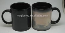 Porcelain Ceramic Type And CE / EU,CIQ,FDA,LFGB,SGS Certification Color Changing Mug