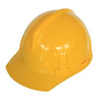 Ratchet V-type construction work safety helmet