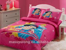 comforter sets 3d bedding set cotton baby bedding Cotton printed 4pcs bedding set/cartoon bedsheet for children