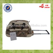 custom travelling trolley duffle bag