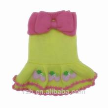 Cute bow dog dress RSH2066