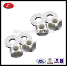 China high quality plastic bolt & nut OEM bolt&nut for fastener parts