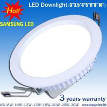 top sale elegant design 20w 21w led downlight