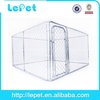 low price chain link box dog house exercise pen
