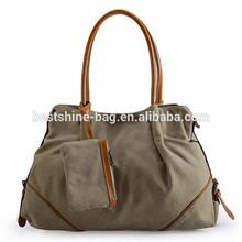 Factory canvas tote bag new desiger handbag cotton tote bag wholesale
