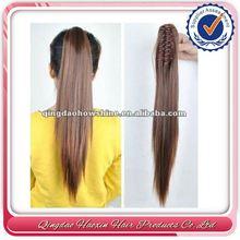 No Shedding No Mix No Tangle Bottom Price Brazilian Hair Weave Ponytail