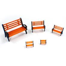 HO O G N Scale Train Layout Chair model 1:87 Miniature Passenger Chair