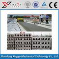 Fácil operar cimento pré-moldado hollow core lajes grandes máquina de construção