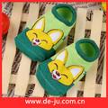 hotsale 100 coloridos de algodão para crianças skid resistência meia da china meias descartáveis cobrir