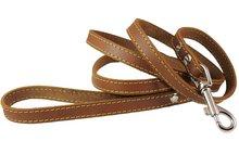 Genuine Thick Leather Dog Leash