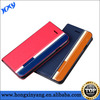 Stripe PU leather for iPhone 6 cover mobile phone case