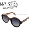 Vente en gros lunettes de soleil en bois, lunettes de soleil en bois, matériau du cadre en bois et verres polarisés des lunettes de soleil en bois matériau
