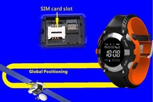 Sport bluetooth watch mobile phone support SIM card for iOS & Android, an-ti lost