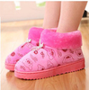 Handwork Home plush warm autumn and winter home female month of shoes