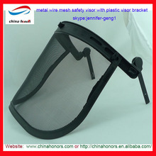 Wire Mesh Face Shields for safety helmet