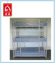 Commercial furniture general use modern triple metal bunk beds