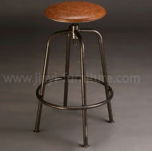 Bronze color metal mateiral unique antique bar stool for stool bar furntiure