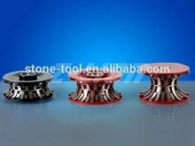Metal Diamond Router Bit for Edging Polishing Stone / Segmented Diamond Profiling Wheels