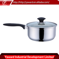Chinese top great Stainless Steel Cookware Saucepan Induction base Capsule bottom