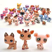 Littlest Pet Shop Cute Cat Dog Loose Figures Child Girl Toys