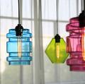 cor moderna luminária de vidro 2014 venda quente