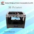 nova 2015 alta qualidade zhuhai wolfgray 3d impressora