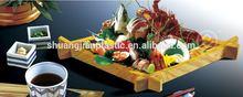 loop end dismond plastic sushi display tray